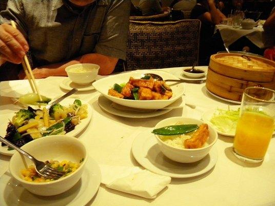 Chinese Restaurant 'Red Dragon' at Gerrard Street, China Town, London